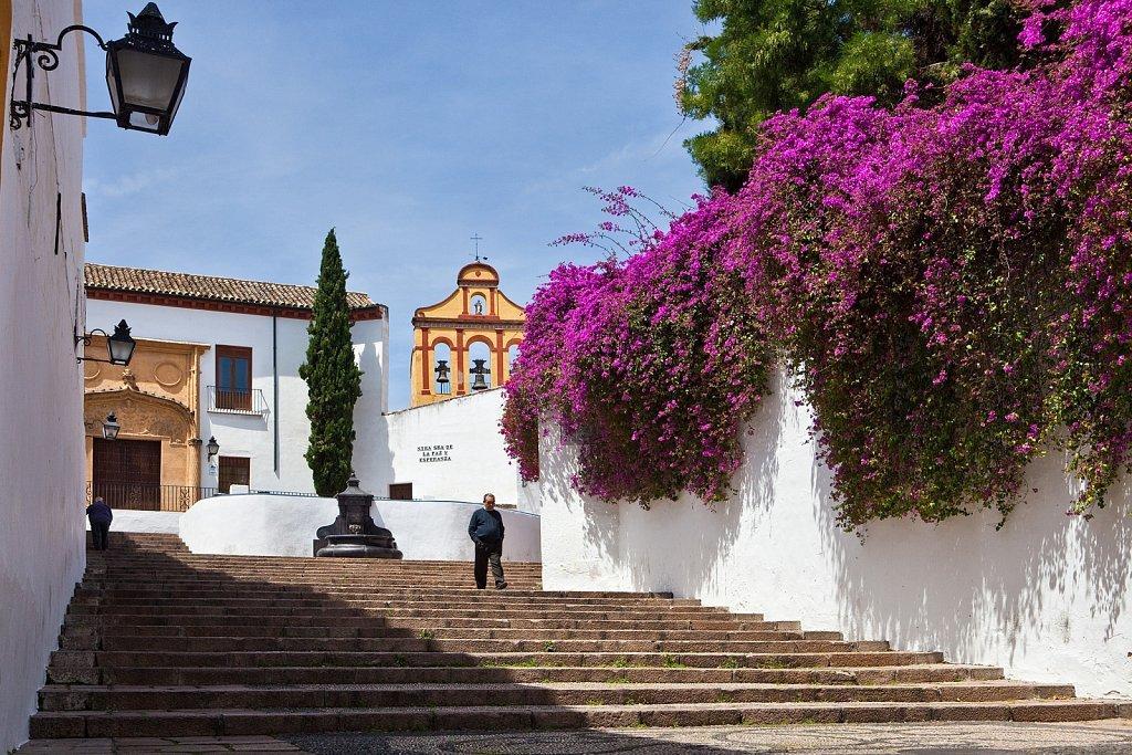 Bailiff Slope at Convent of Sorrows, Old Quarter, Cordoba, Spain