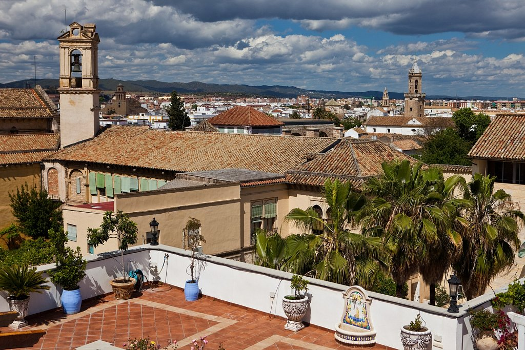 Rooftop view of Cordoba, Spain