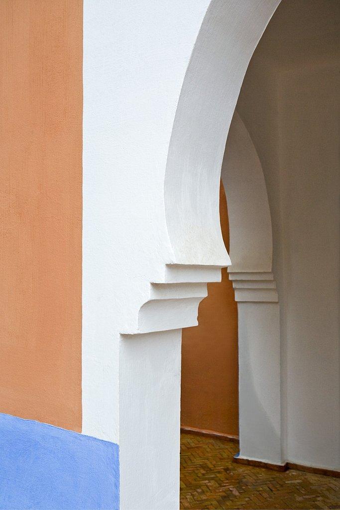 Chechefouan Morocco doorway arch